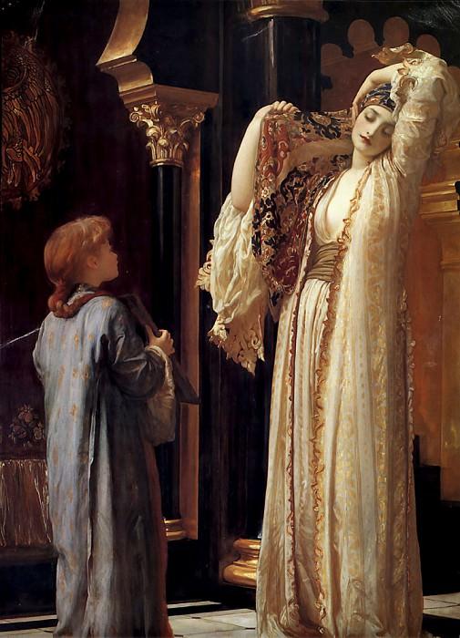 Свет Гарема, ок.1880. Фредерик Лейтон