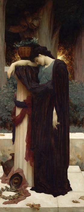 Lachrymae. Frederick Leighton