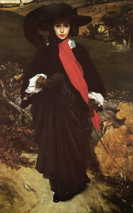 Portrait of May Sartoris. Frederick Leighton