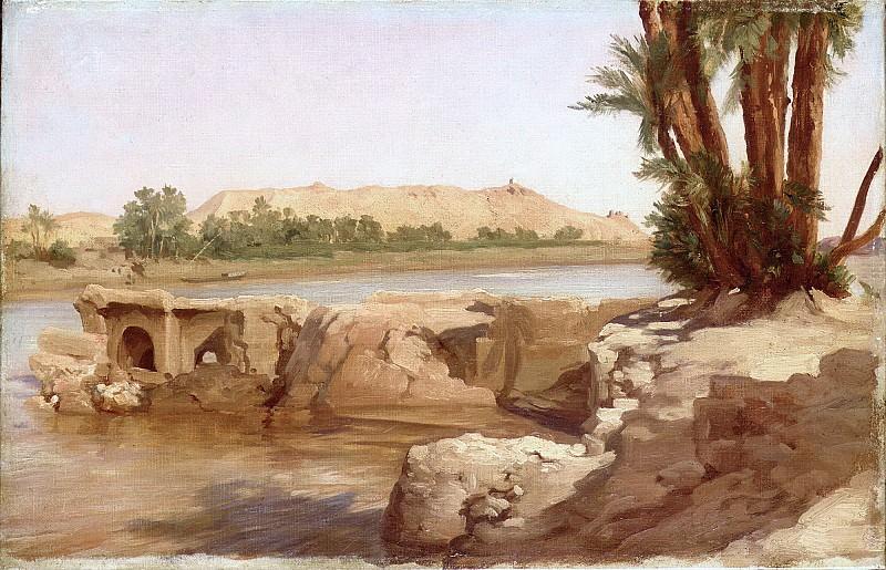 On the Nile. Frederick Leighton