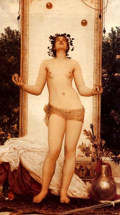 The Antique Juggling Girl. Frederick Leighton