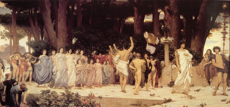 The Daphnephoria. Frederick Leighton