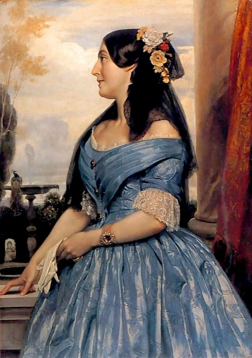 Portrait of a Lady. Frederick Leighton