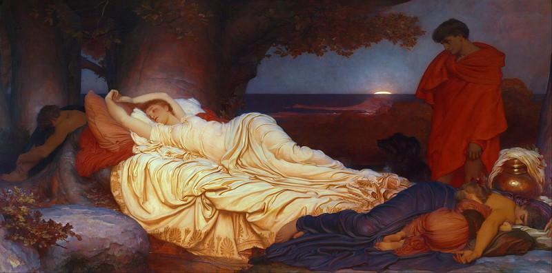 Cymon and Iphigenia. Frederick Leighton