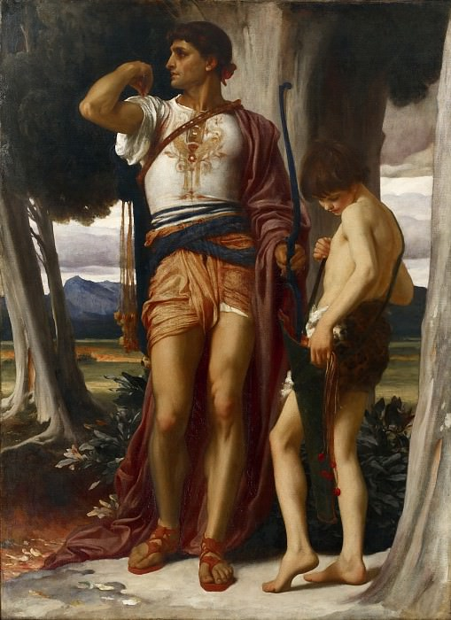Jonathans Token to David. Frederick Leighton