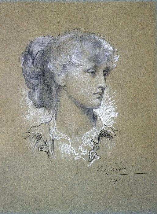 Portrait of Miss Dorothy Dene. Frederick Leighton