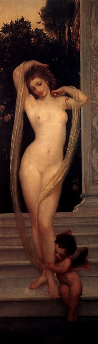 A Bather. Frederick Leighton