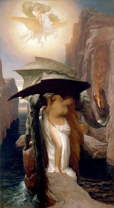 Perseus and Andromeda. Frederick Leighton