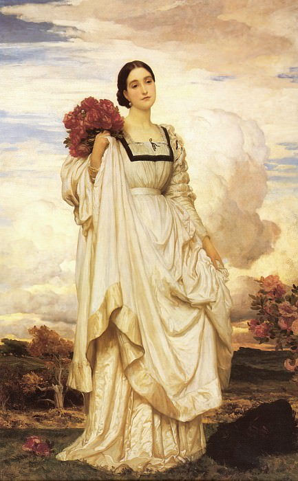 The Countess Brownlow. Frederick Leighton