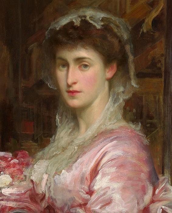 Mrs Henry Evans Gordon. Frederick Leighton