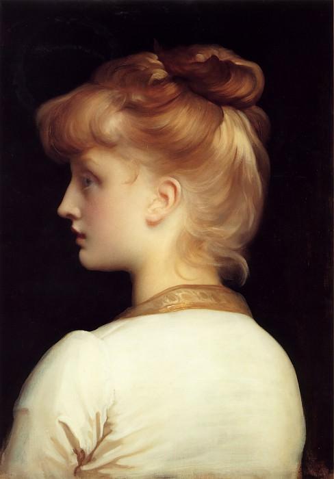 A Girl. Frederick Leighton