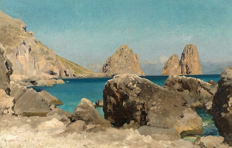 Rocks of the Sirens. Frederick Leighton