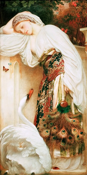 Odalisque. Frederick Leighton