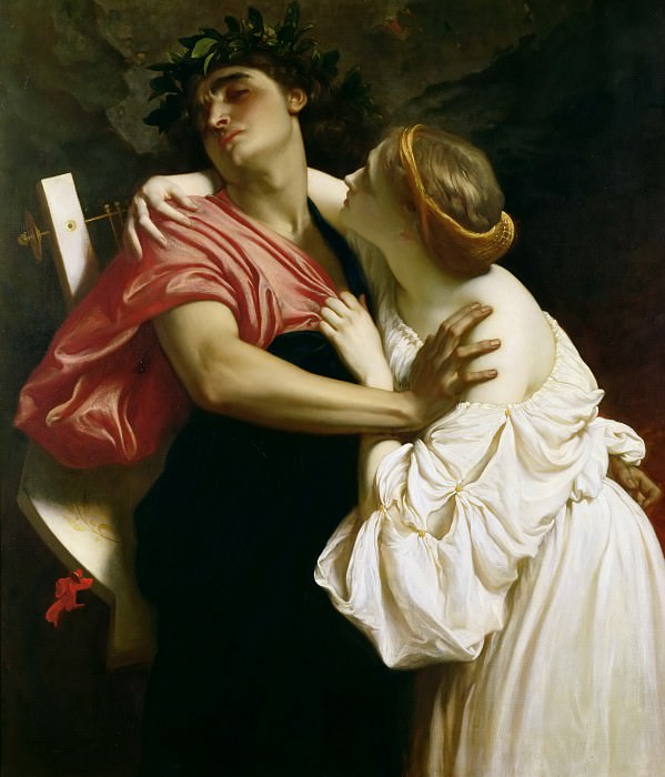 Orpheus and Euridyce. Frederick Leighton