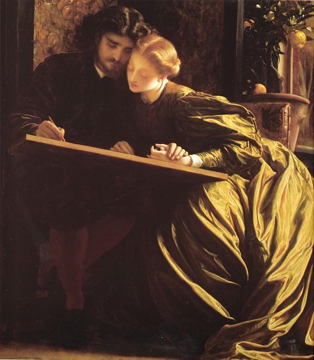 The Painters Honeymoon. Frederick Leighton