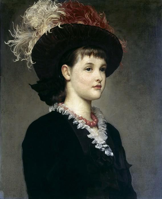 Miss Mabel Mills. Frederick Leighton