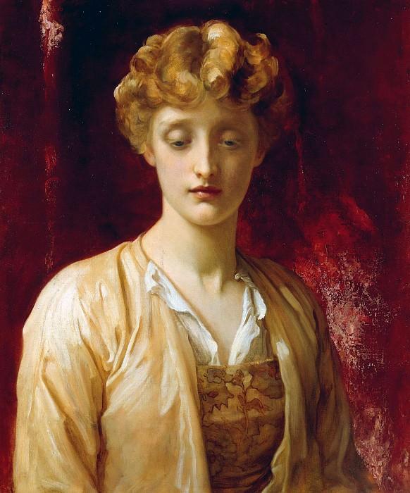 Miss Dene. Frederick Leighton