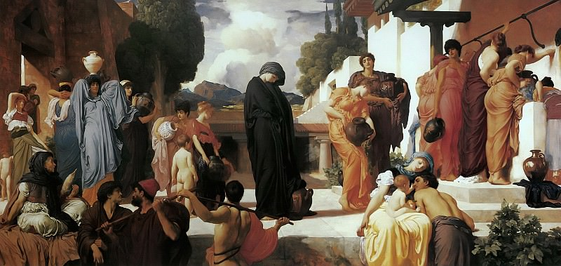 Captive Andromache. Frederick Leighton