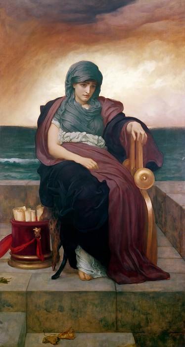 The Tragic Poetess. Frederick Leighton