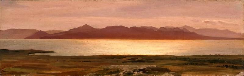 Coast of Aegina. Frederick Leighton