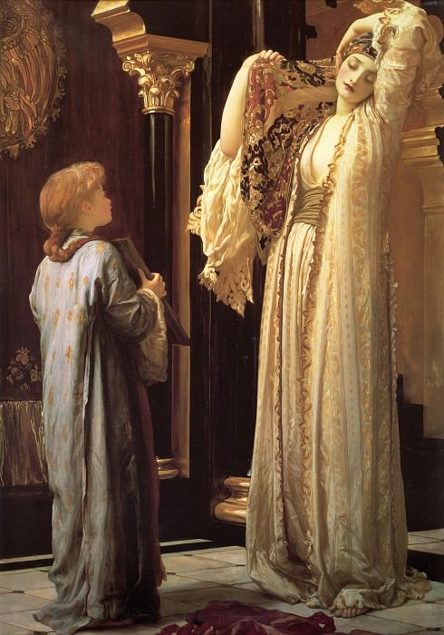 Light of the Harem. Frederick Leighton