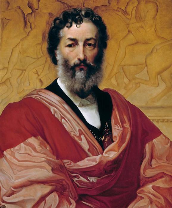 Self-portrait. Frederick Leighton