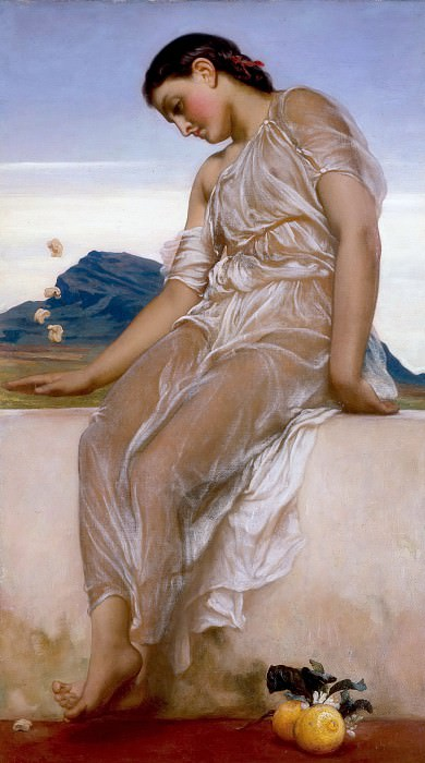 The Knucklebone Player. Frederick Leighton