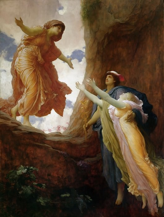 The Return of Persephone. Frederick Leighton