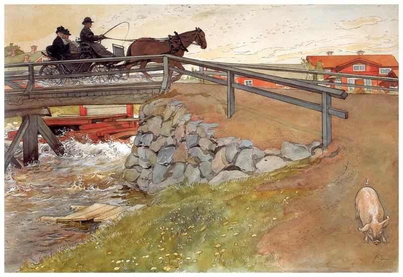 Мост, 1894-96. Карл Улоф Ларссон
