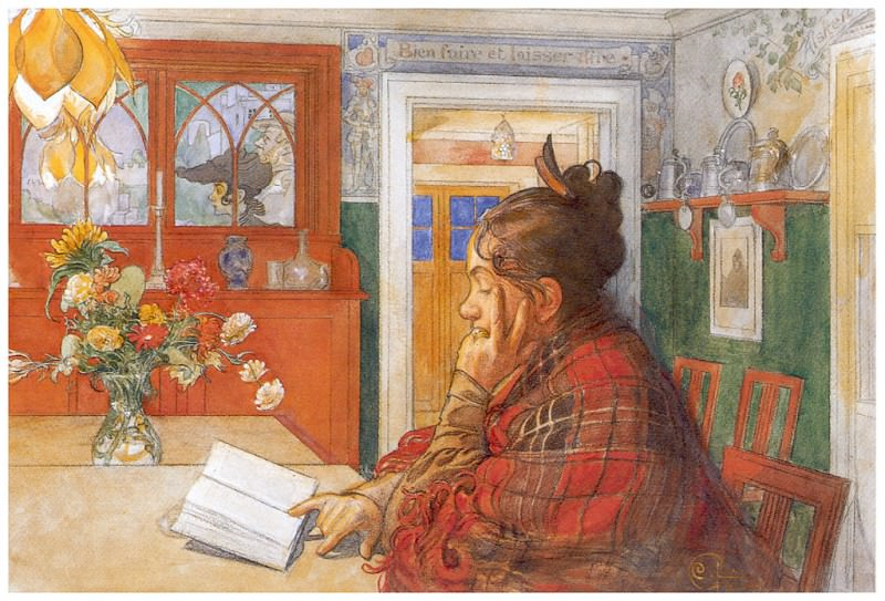 Законное место Карин, 1904. Карл Улоф Ларссон