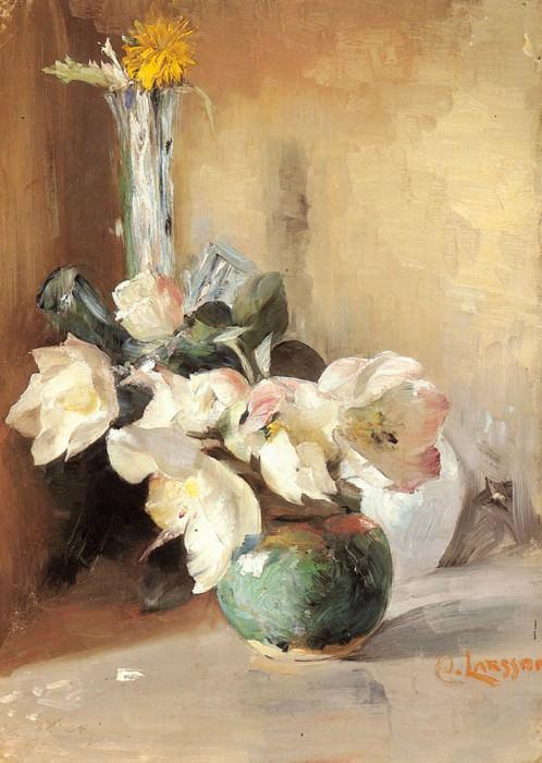 Roses De Noel. Carl Larsson