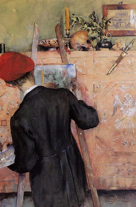 The Still Life Painter. Carl Larsson