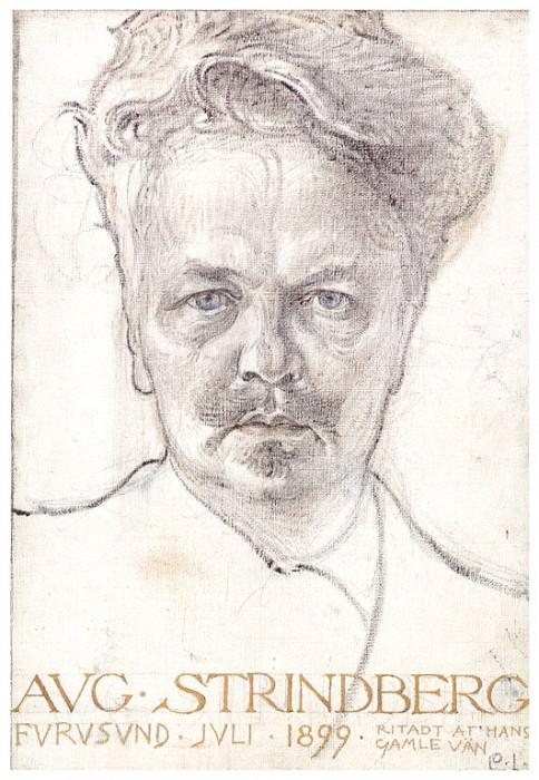 AugustStrindberg 1899. Carl Larsson