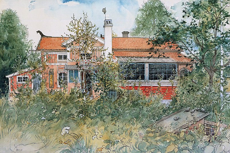 GCCAL2002C05 The Cottage 1895. Carl Larsson
