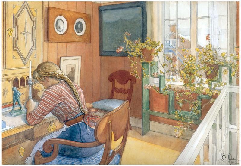 Корреспонденция, 1912. Карл Улоф Ларссон