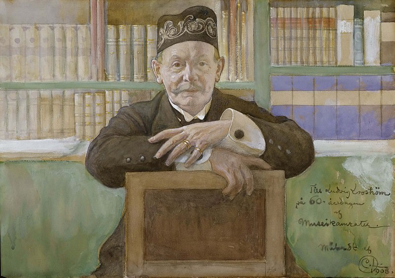 Ludvig Looström (1848-1941). Carl Larsson