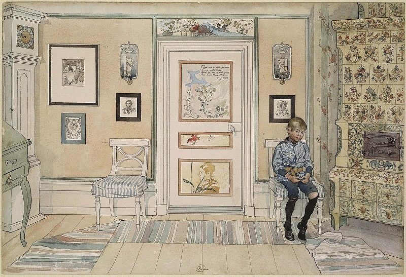 A home. Carl Larsson