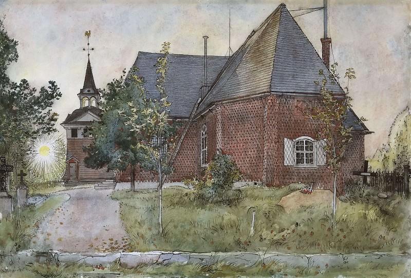 Старая церковь в Сундборне. Из серии «Дом». Карл Улоф Ларссон