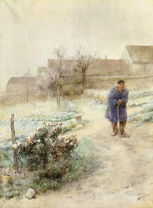 November. Carl Larsson
