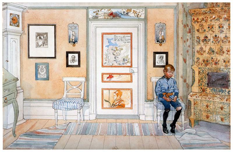 El castigo 1894-96. Carl Larsson