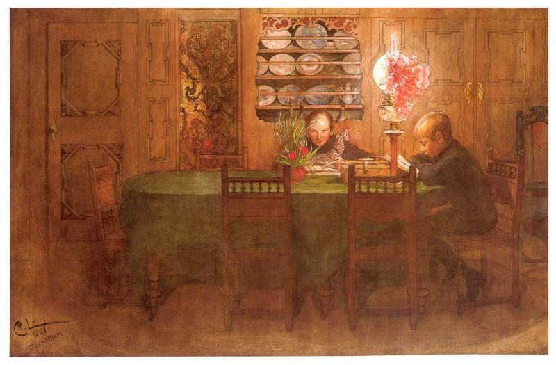 Обязанные трудиться, 1898. Карл Улоф Ларссон
