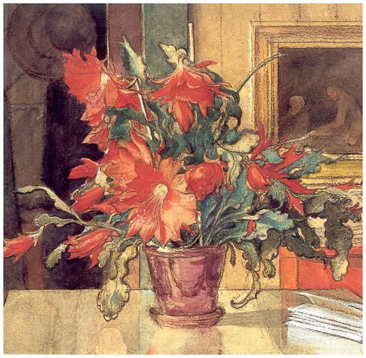 DetalleDeLisbethLeyendo 1904. Carl Larsson