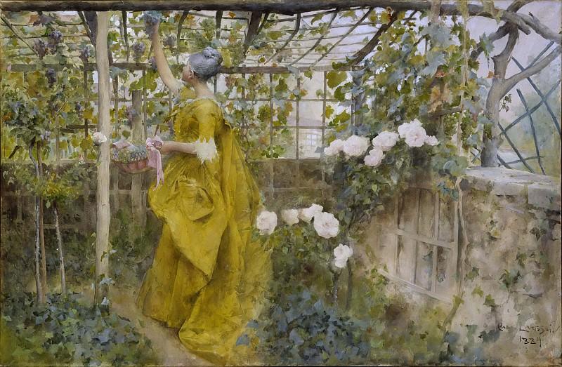 The Vine. Carl Larsson