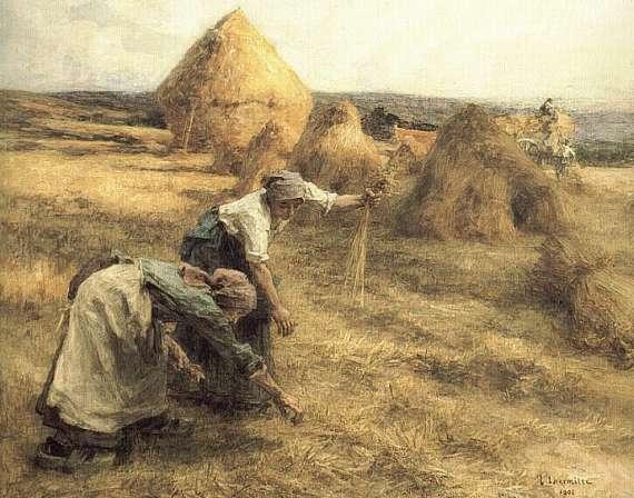 Les Glaneuses. Leon Augustin Lhermitte