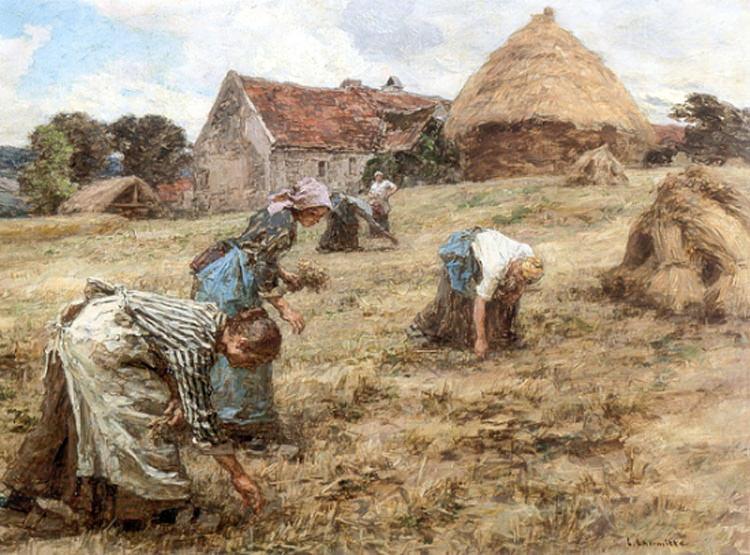 Les Glaneuses 1898. Leon Augustin Lhermitte