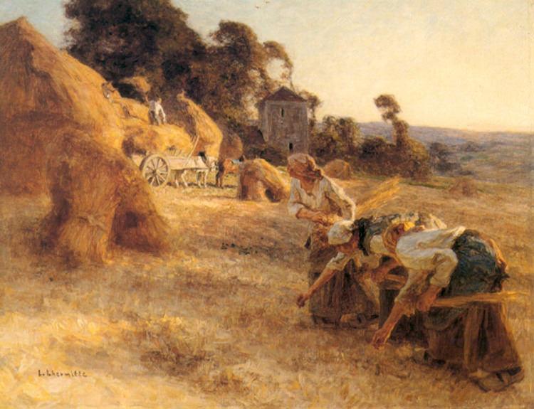 Haymakers. Leon Augustin Lhermitte