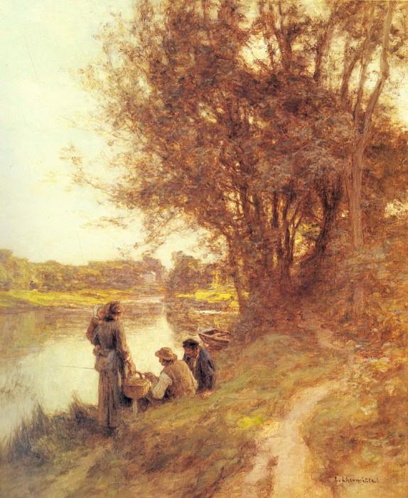 Les Pecheurs. Leon Augustin Lhermitte