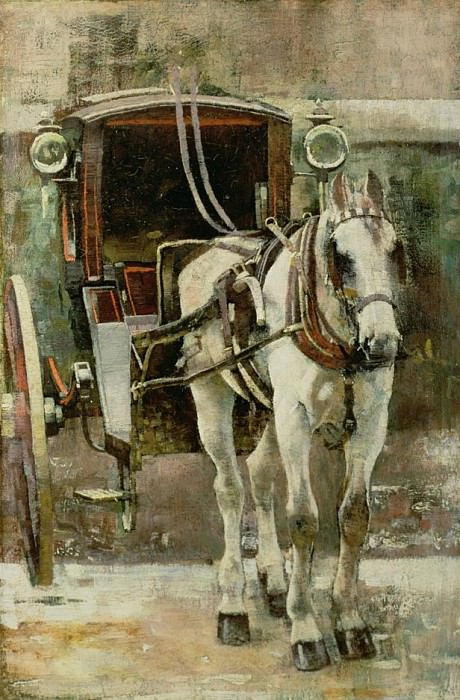 The Hansom Cab. William Logsdail