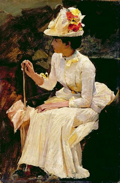 Женщина (эскиз). Уильям Логсдейл