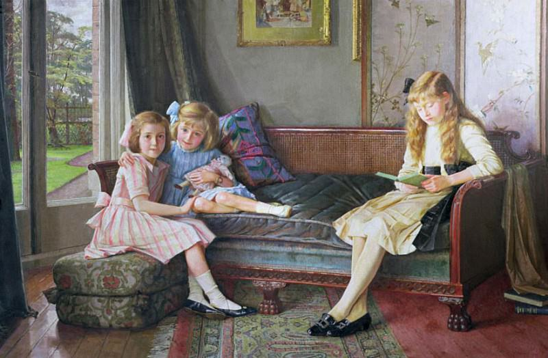 The Children of James Todd. William Logsdail